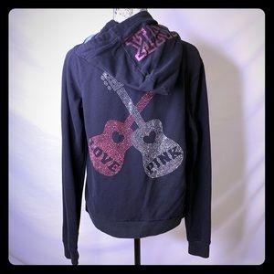 🎸VS PINK zip-up hoodie